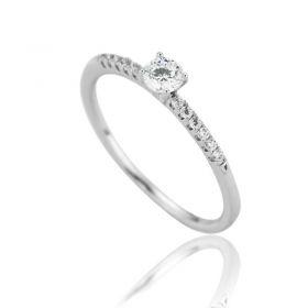 Pierścionek stal chirurgiczna platerowana złotem PST561, Rozmiar pierścionków: US10 EU22