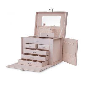 Szkatułka na biżuterię STENBERG kuferek etui organizer pudełko PD64PR