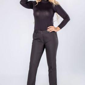 spodnie cygretki z nogawkami w kant