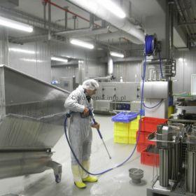 Sprzątanie zakładów produkcyjnych - EKOBRIS firma sprzątająca