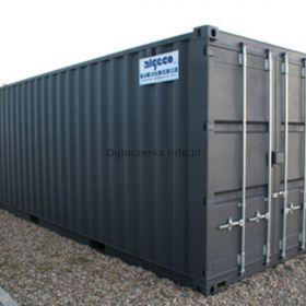 Używany i nowy kontener wysyłkowy